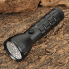 BK241 S29 29-LED 60lm 3-Mode White Plus Red Plus Green Light Torch -- Black (3 x AAA / 1 x 18650) (Torches - LED Category)
