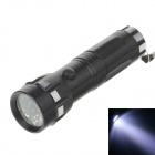 FD989 100lm 7000K 14-LED White Light 1-Mode Torch -- Black Plus Silver (3 x AAA Battery ) (Torches - LED Category)