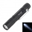 SM-ALL SUN-GD FD230 30lm 6000K 1-LED White Light 1-Mode Pen Hung Torch -- Black (1 x AAA) (Torches - LED Category)