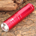 DP158 Cr-ee-GD XP-E R3 348lm 3-Mode White Zooming Torch -- Red (1 x 14500 / 1 x AA) (Torches - 14500 Cree Category)