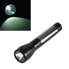 LH860 HQ-L01 Solar Powered Self-Recharge LED 38lm White Light Torch -- Black (Torches - Dynamo Category)