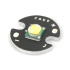 TT414 CR-EE-GD XM-L T6 10W 800lm LED Emitter -- Black Plus Silver (16 millimetres / DC 3.6 to 4.2V) (Torches - Cree Category)